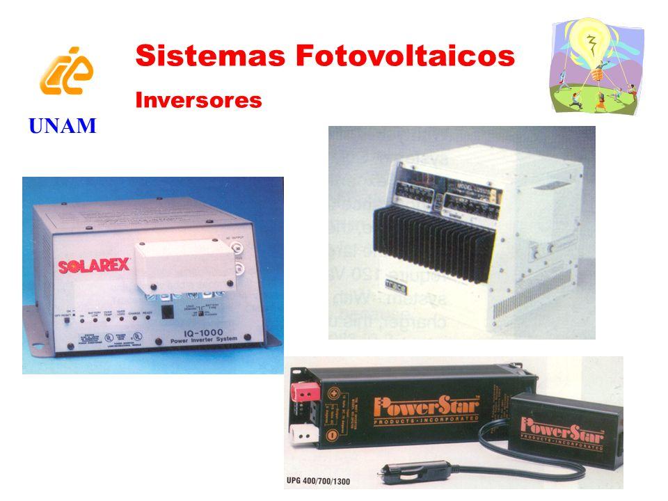 UNAM Sistemas Fotovoltaicos Inversores