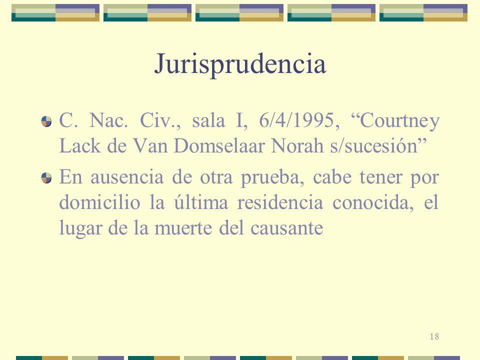 18 Jurisprudencia C.Nac.