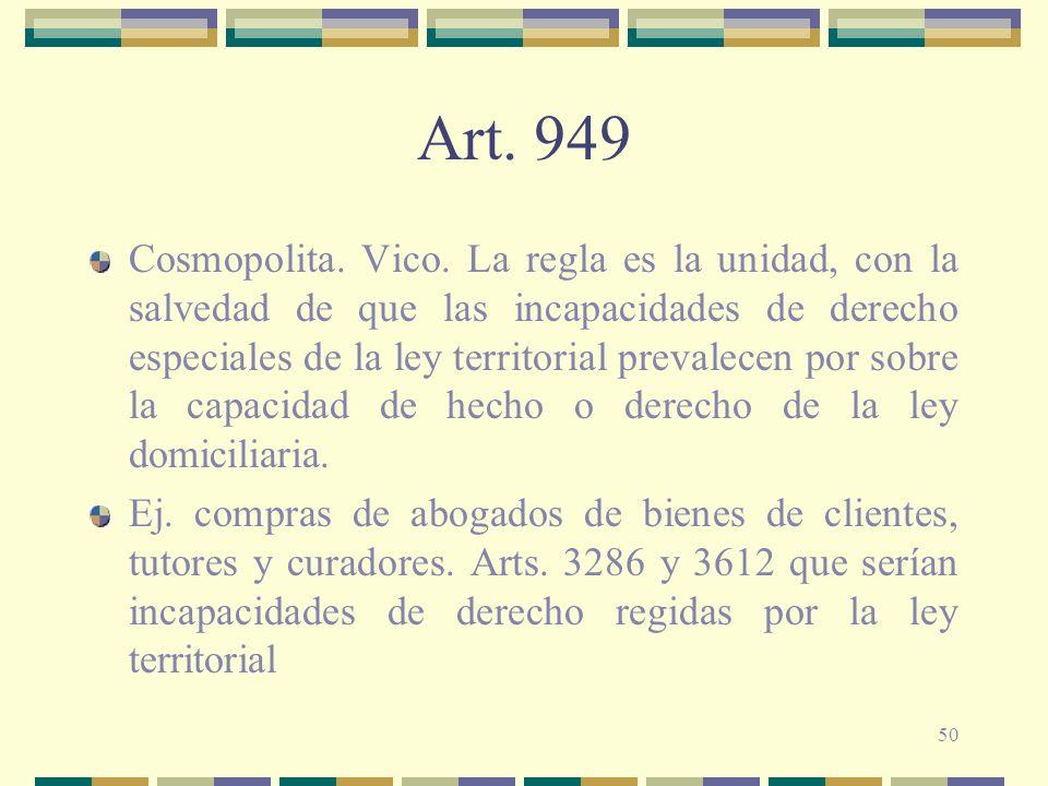 50 Art.949 Cosmopolita. Vico.