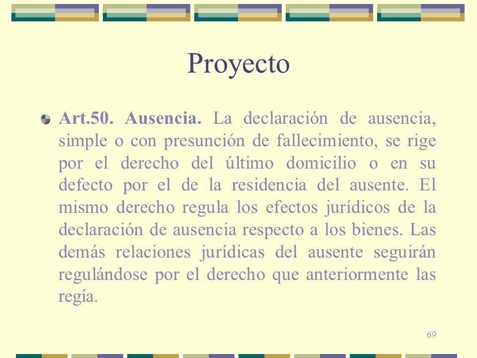 69 Proyecto Art.50.Ausencia.