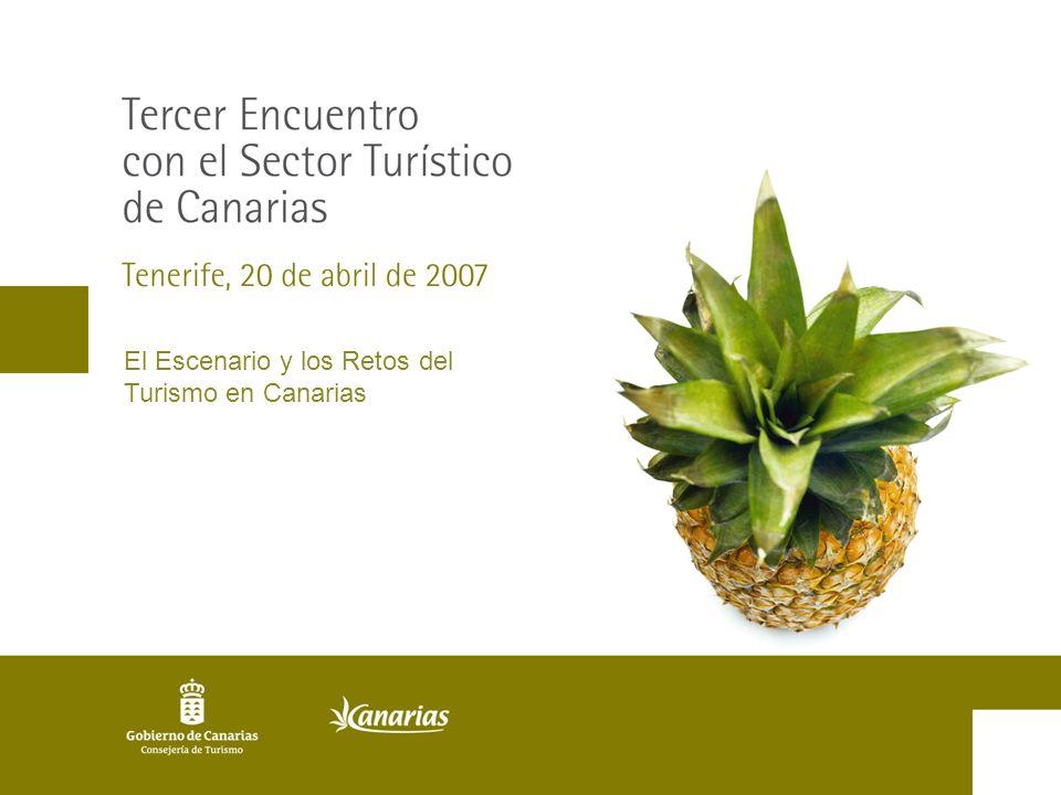 El Escenario y los Retos del Turismo en Canarias