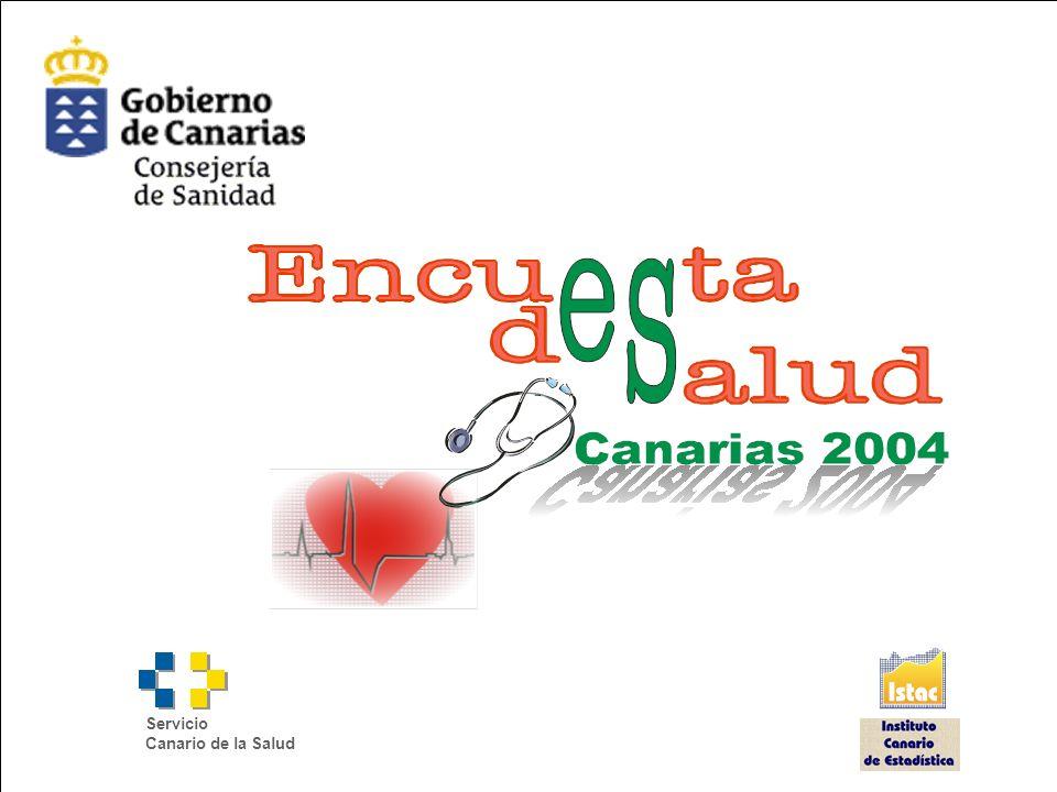Encuesta de Salud de Canarias 2004 Servicio Canario de la Salud
