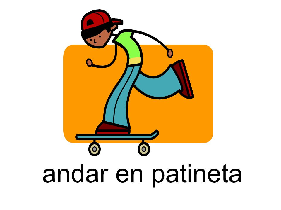 andar en patineta