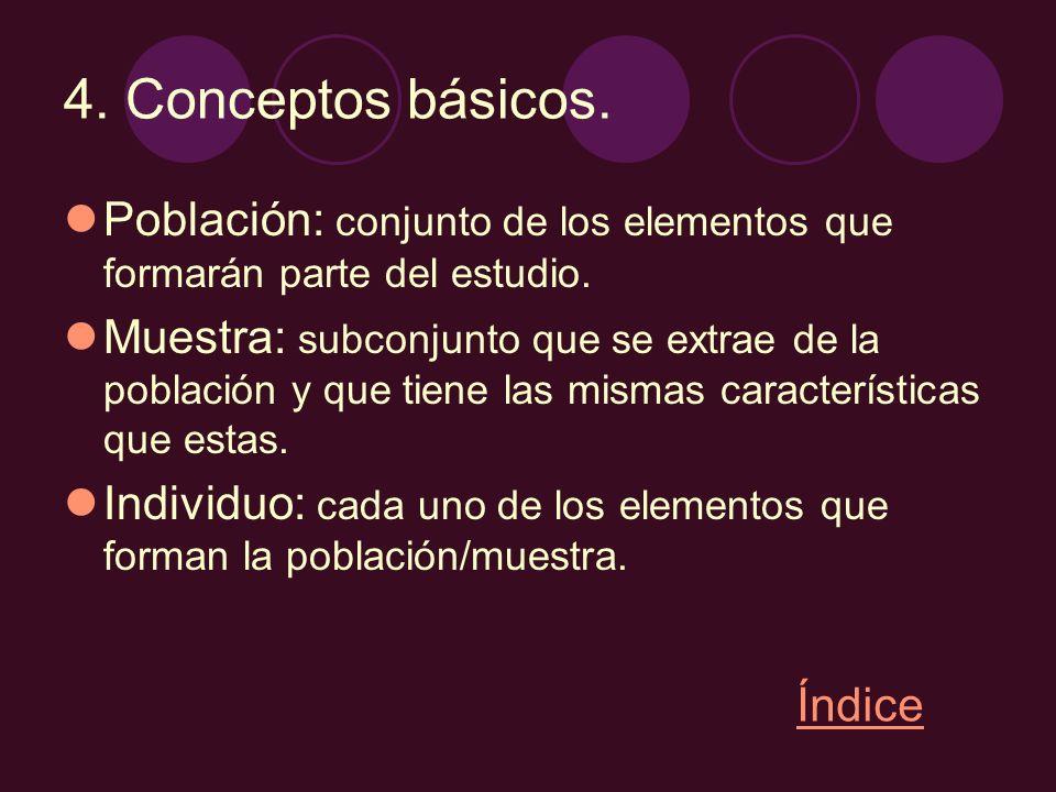 Caracteres: aspectos o características de los individuos de la población que se quieren estudiar.