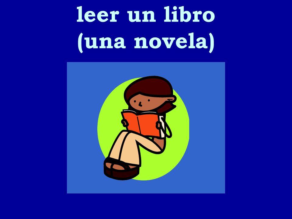 leer un libro (una novela) 2