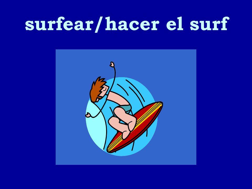 surfear/hacer el surf 17