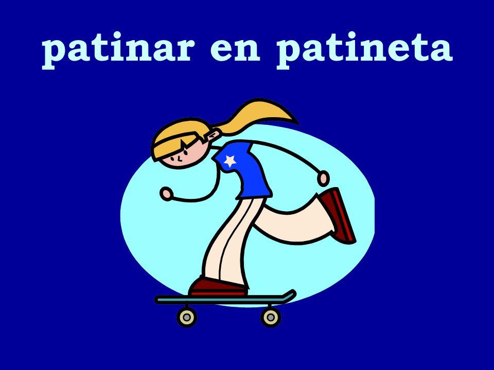 patinar en patineta