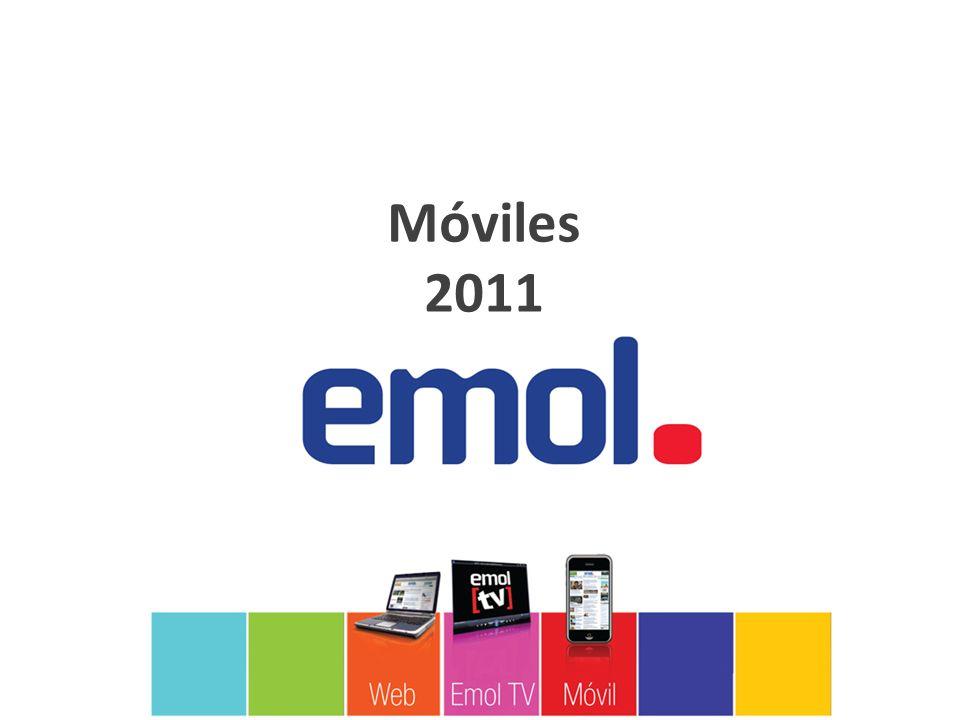 Optimizado para el tamaño de las distintas pantallas de iPhone, Blackberry y dispositivos móviles, Emol pone a disposición piezas especialmente diseñadas para esta plataforma.