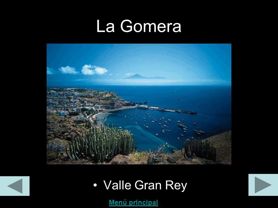 La Gomera Valle Gran Rey Menú principal