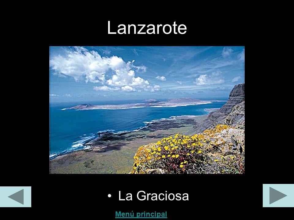 Lanzarote La Graciosa Menú principal