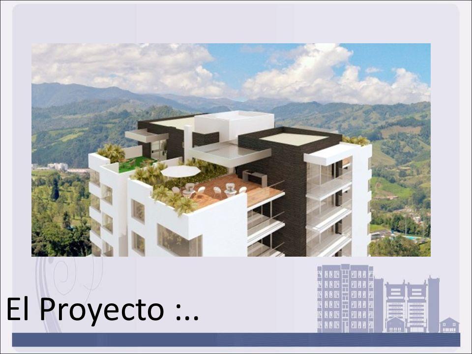 El proyecto esta compuesto por 41 apartamentos en una torre de 9 pisos, en las cuales se adaptan 4 y 5 apartamentos por piso, con modernos diseños y acabados, amplios espacios, y excelente vista.