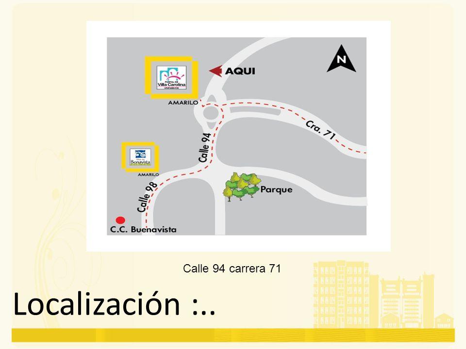 Calle 94 carrera 71
