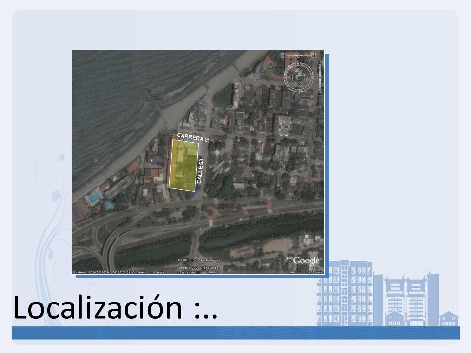 CARRERA 2ª CALLE 63 Localización :..