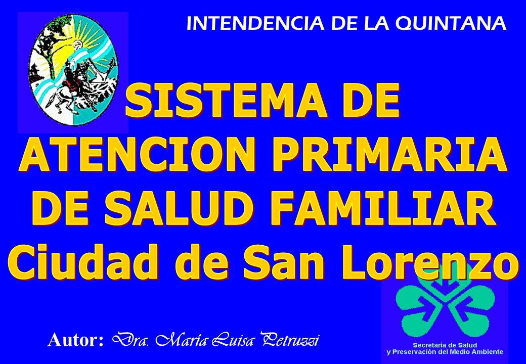 Autor: Dra. María Luisa Petruzzi INTENDENCIA DE LA QUINTANA