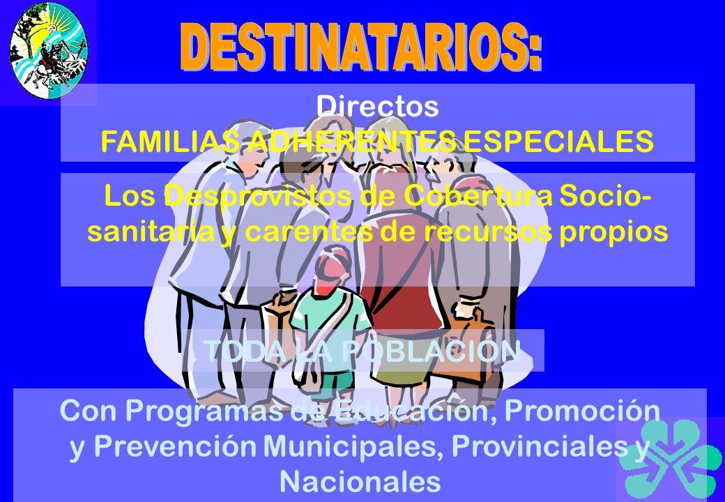AGENTES GERONTOLÓGICOS Personas provenientes de los programas de empleo Voluntarios Con capacitación gerontológica
