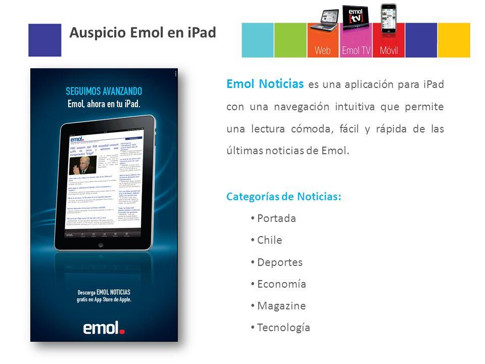 Emol Noticias es una aplicación para iPad con una navegación intuitiva que permite una lectura cómoda, fácil y rápida de las últimas noticias de Emol.