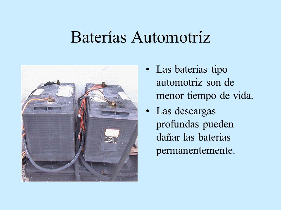 Temperatura y autodescarga Aunque una bateria no se use, esta se autodescarga por 3 factores: materiales, impuresas y temperatura.