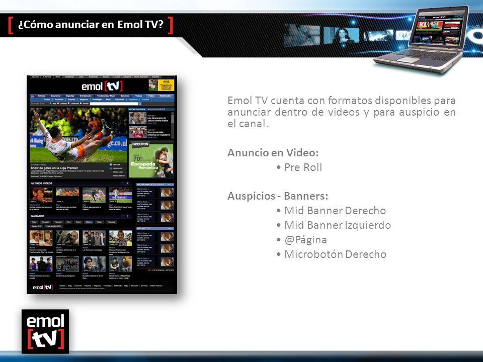 ¿Cómo anunciar en Emol TV.