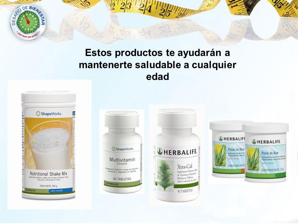 Estos productos te ayudarán a mantenerte saludable a cualquier edad