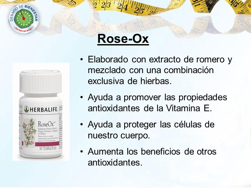 Elaborado con extracto de romero y mezclado con una combinación exclusiva de hierbas. Ayuda a promover las propiedades antioxidantes de la Vitamina E.