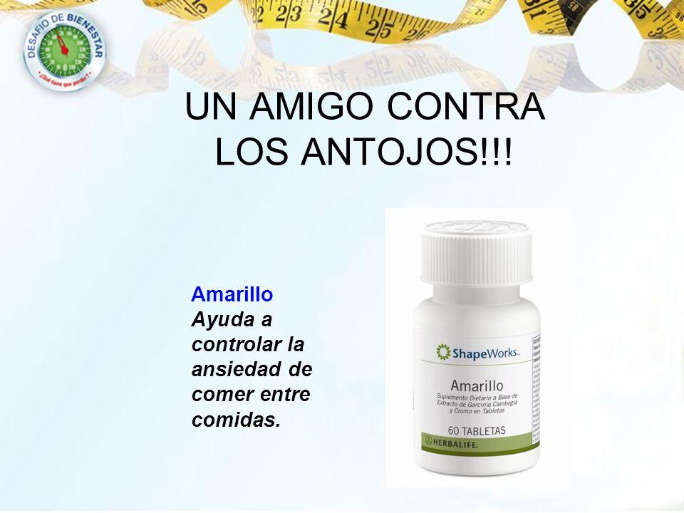 UN AMIGO CONTRA LOS ANTOJOS!!! Amarillo Ayuda a controlar la ansiedad de comer entre comidas.