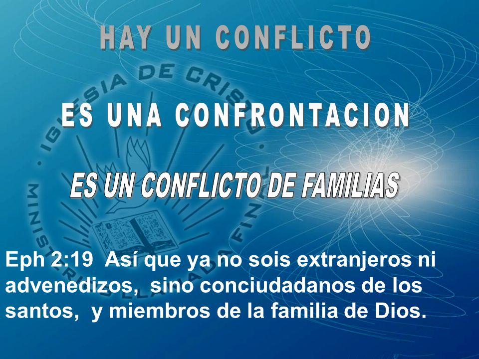 Eph 2:19 Así que ya no sois extranjeros ni advenedizos, sino conciudadanos de los santos, y miembros de la familia de Dios.