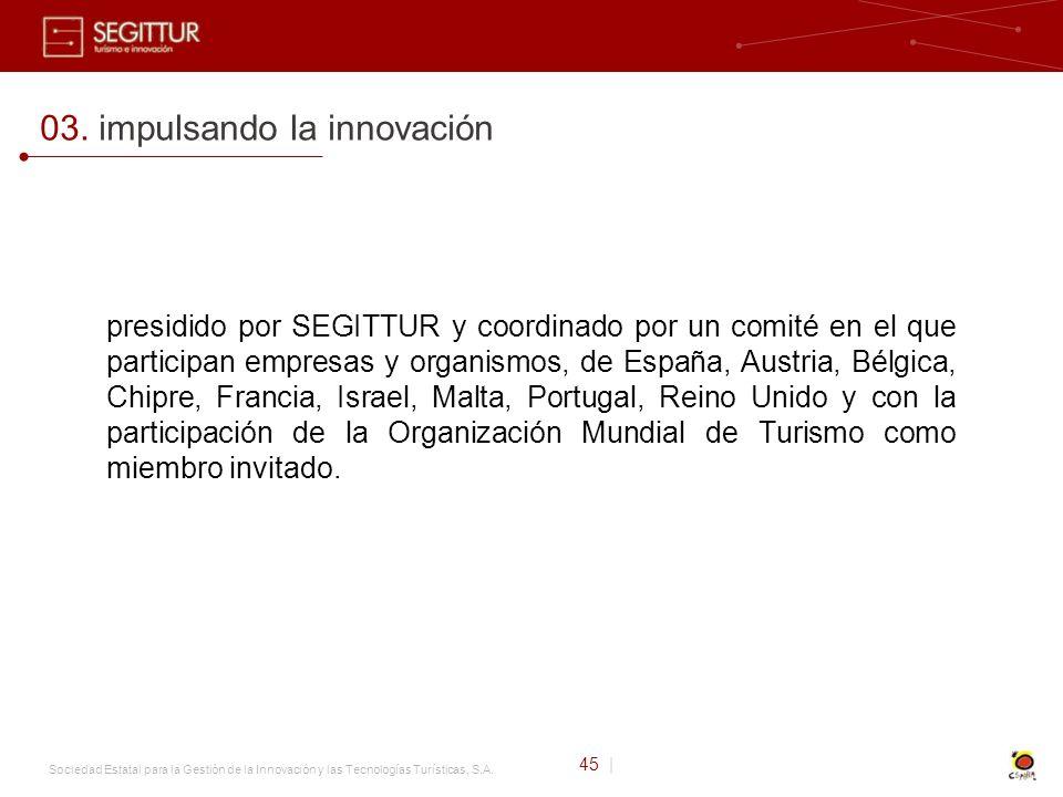 Sociedad Estatal para la Gestión de la Innovación y las Tecnologías Turísticas, S.A.