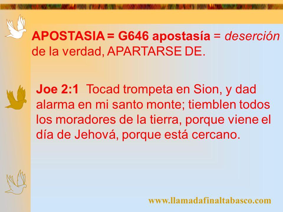 www.llamadafinaltabasco.com Jer 4:1 Si te volvieres, oh Israel, dice Jehová, vuélvete a mí.