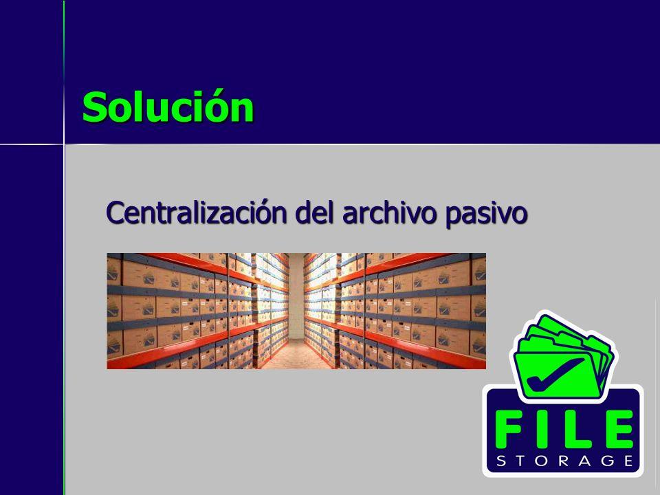 Solución Centralización del archivo pasivo