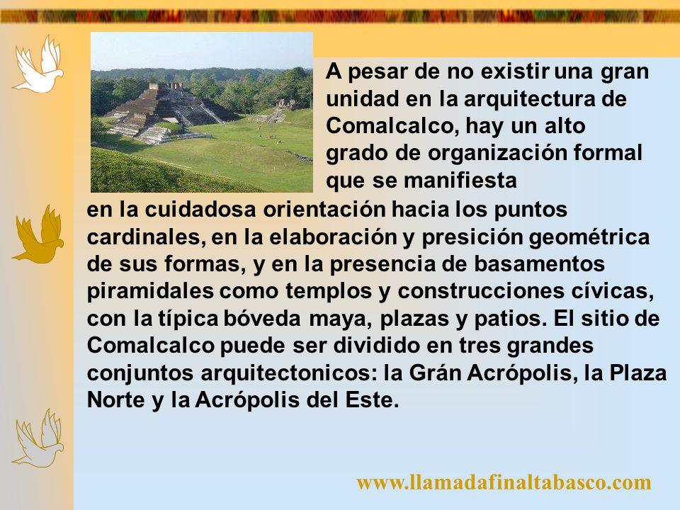 www.llamadafinaltabasco.com en la cuidadosa orientación hacia los puntos cardinales, en la elaboración y presición geométrica de sus formas, y en la p