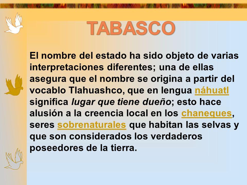 El nombre del estado ha sido objeto de varias interpretaciones diferentes; una de ellas asegura que el nombre se origina a partir del vocablo Tlahuash