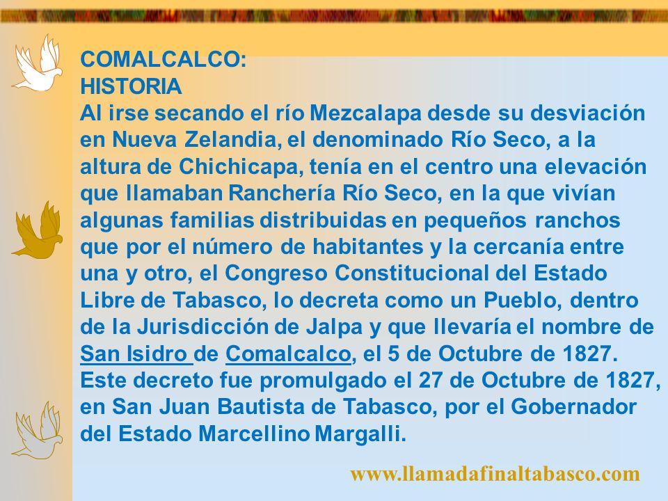 La palabra de Comalcalco es una palabra chontal que quiere decir casa de los cómales.