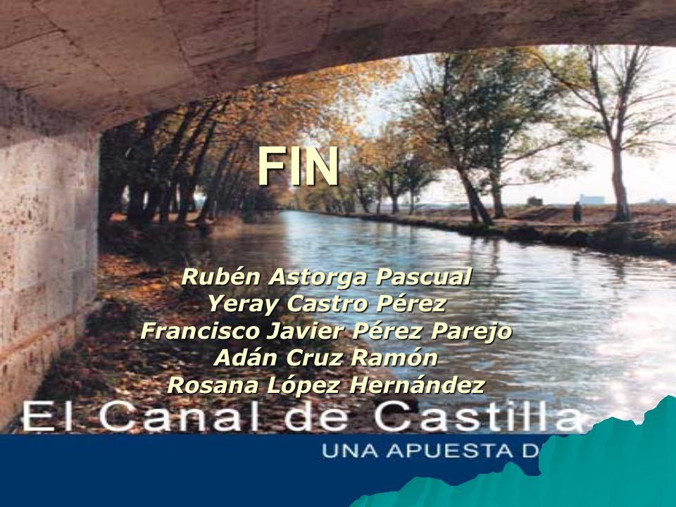 FIN Rubén Astorga Pascual Yeray Castro Pérez Francisco Javier Pérez Parejo Adán Cruz Ramón Rosana López Hernández
