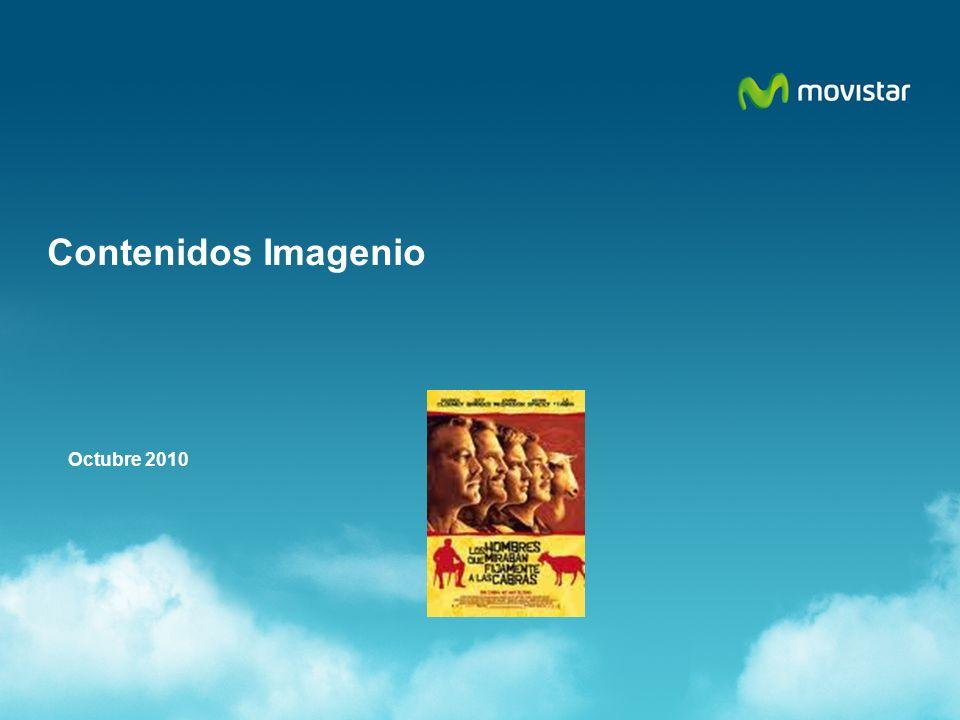 Comunicado xAV xxx/0x ÍNDICE Resto Videoclub Septiembre 2010 Promociones de Contenido Contenidos Especiales de Imagenio Canales de Televisión Estrenos de Videoclub