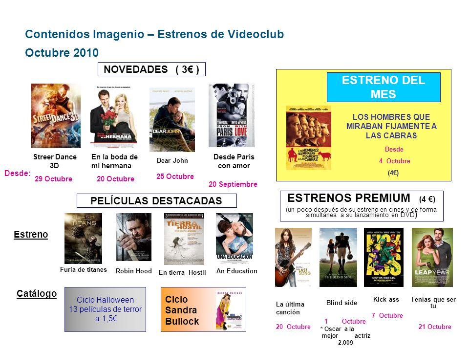 Contenidos Imagenio – Resto Videoclub Octubre 2010 DOCUMENTALES ( 1 por documental) - El negocio de la droga.