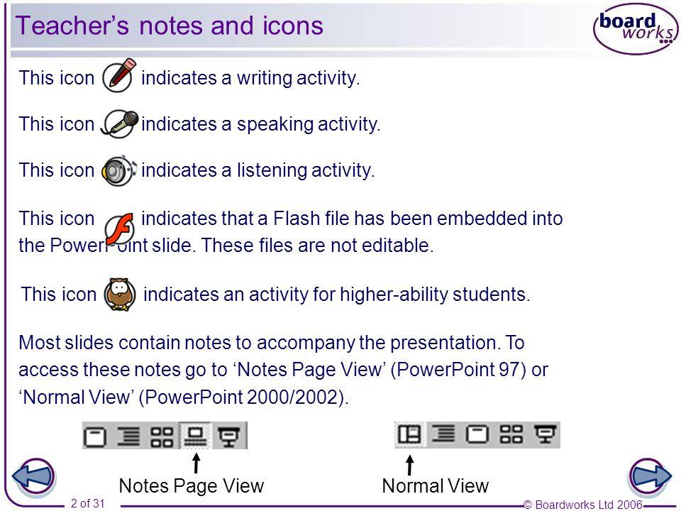 © Boardworks Ltd 2006 3 of 31 Comunicación Part 2 El dinero ¿Reciclar o no reciclar.