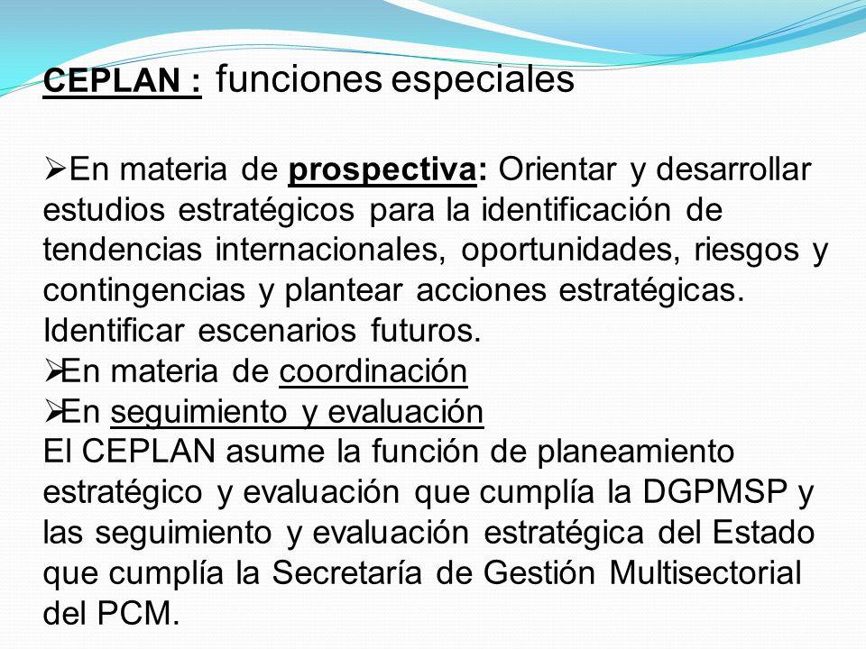 PROGRAMACION ESTRATEGICA MULTIANUAL Proceso que involucra la capacidad de determinar objetivos, asociar recursos, definir cursos de acción en un esquema multianual que permite cumplir dichos objetivos.