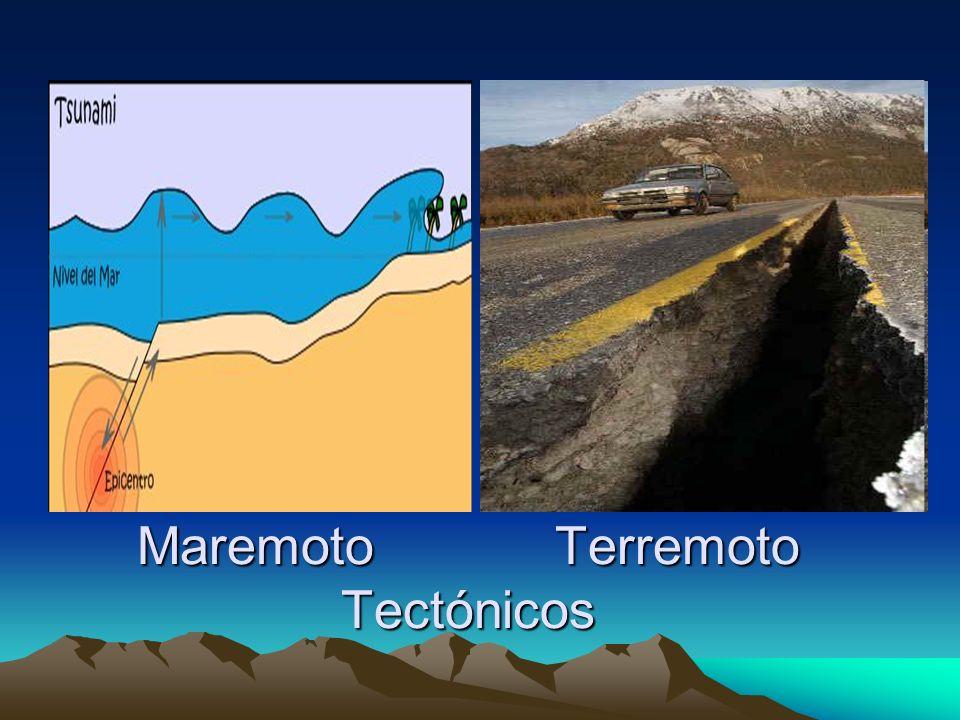 Terremoto Perimétrico Maremoto Perimétrico Se desarrolla en el interior de una placa continental: si se produce en la superficie terrestre se denomina terremoto perimétrico y si se produce en el mar se denomina maremoto perimétrico.