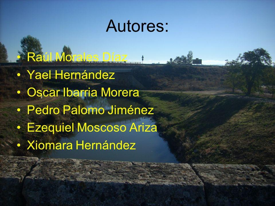 Autores: Raúl Morales Díaz Yael Hernández Oscar Ibarria Morera Pedro Palomo Jiménez Ezequiel Moscoso Ariza Xiomara Hernández