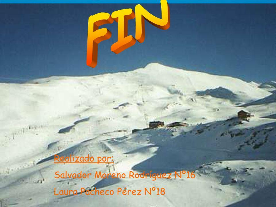 Realizado por: Salvador Moreno Rodríguez Nº16 Laura Pacheco Pérez Nº18