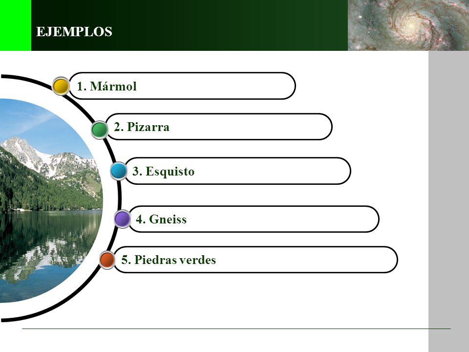 Las rocas metamórficas Las rocas metamórficas proceden de la transformación de otras rocas. El proceso que las genera se denomina metamorfismo. Este p