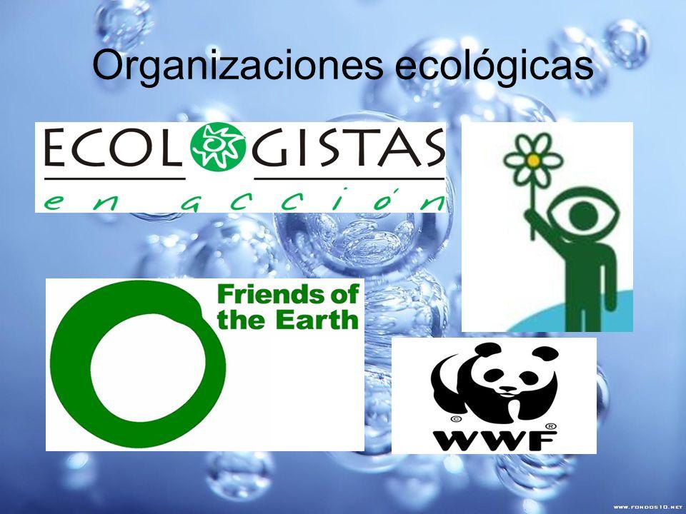 Organizaciones ecológicas