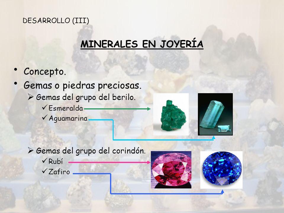 MINERALES EN JOYERÍA Gemas del grupo del cuarzo.Amatista Cristal de roca Ágata Diamantes.