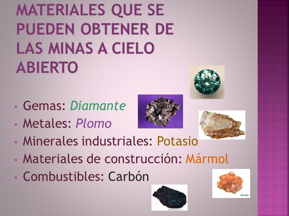 Proceso extractivo de minerales que se realiza en la superficie y con maquinarias mineras de grandes dimensiones.