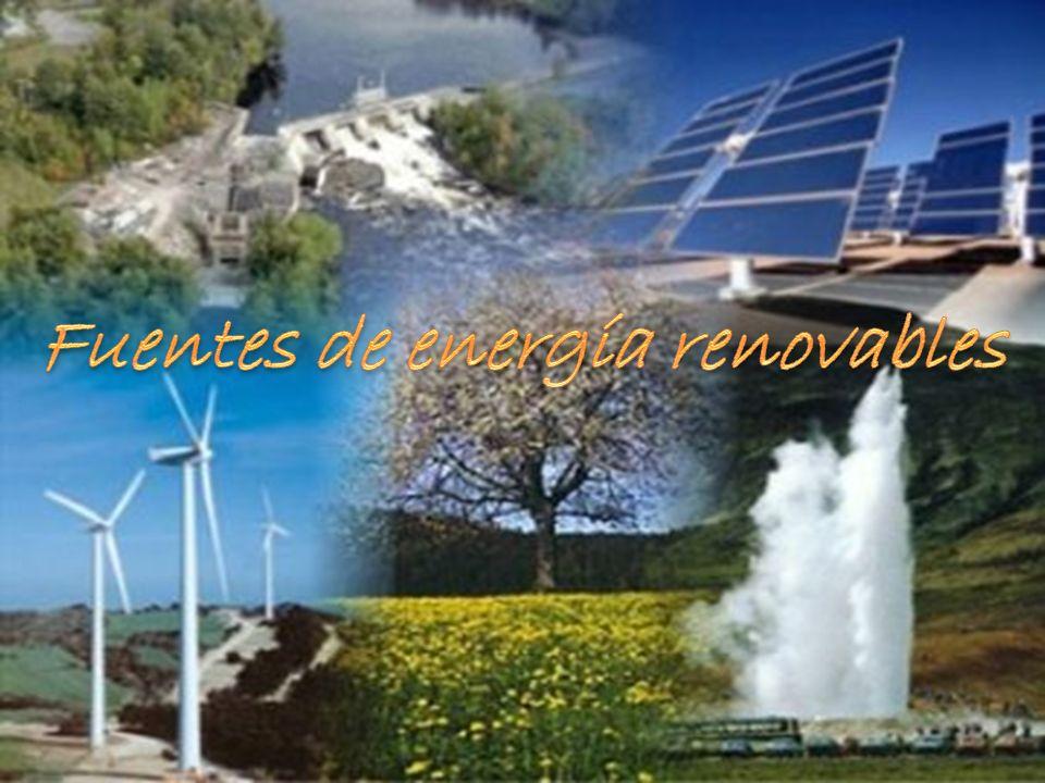 Definición de energía renovable Tipos de la energía renovable Energías alternativas Conclusión Bibliografía
