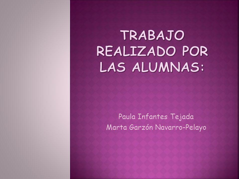Paula Infantes Tejada Marta Garzón Navarro-Pelayo