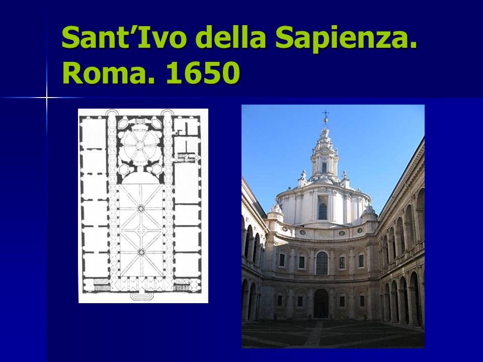 SantIvo della Sapienza. Roma. 1650