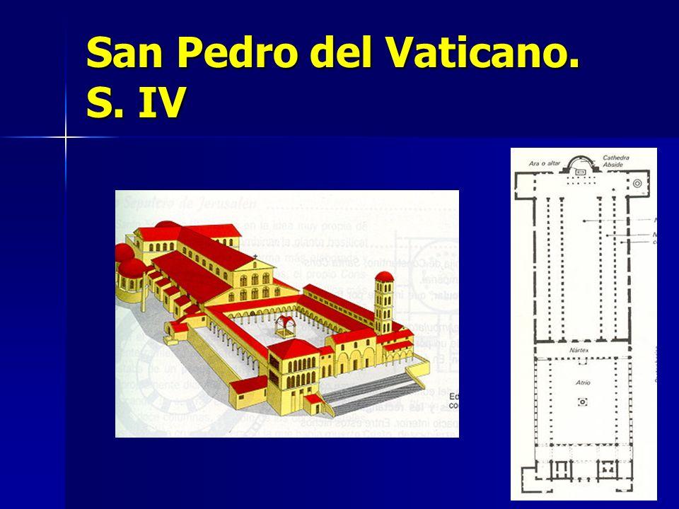 San Pedro del Vaticano. S. IV