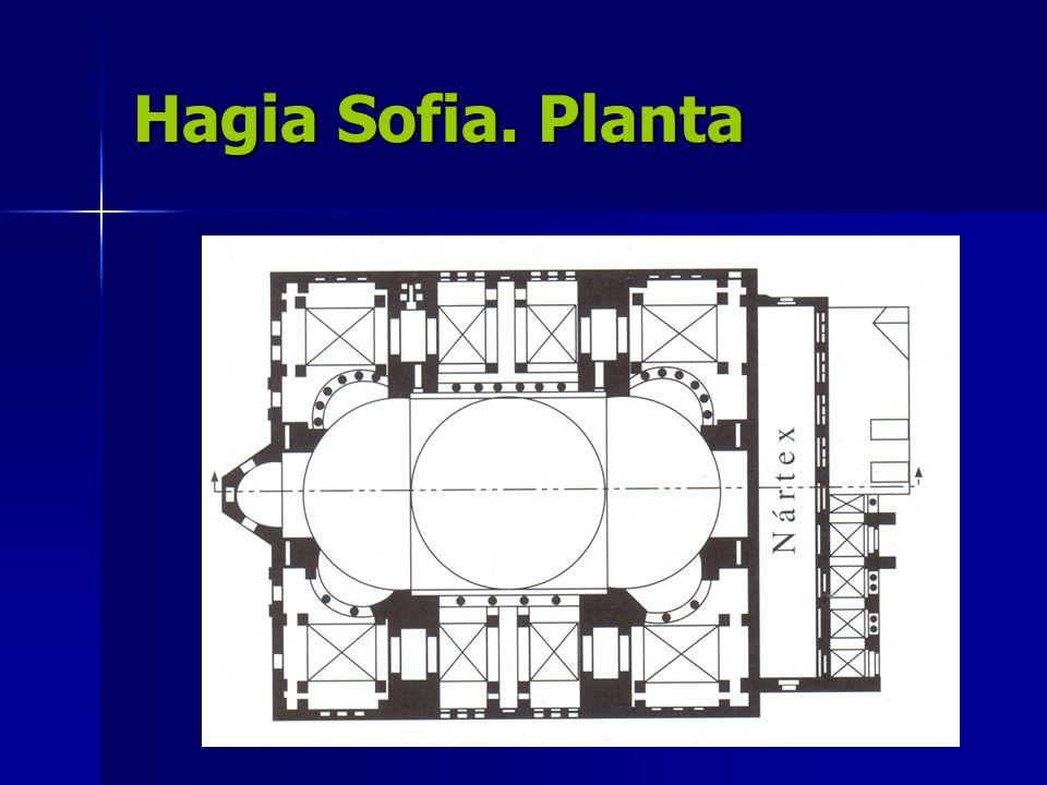 Hagia Sofia. Planta
