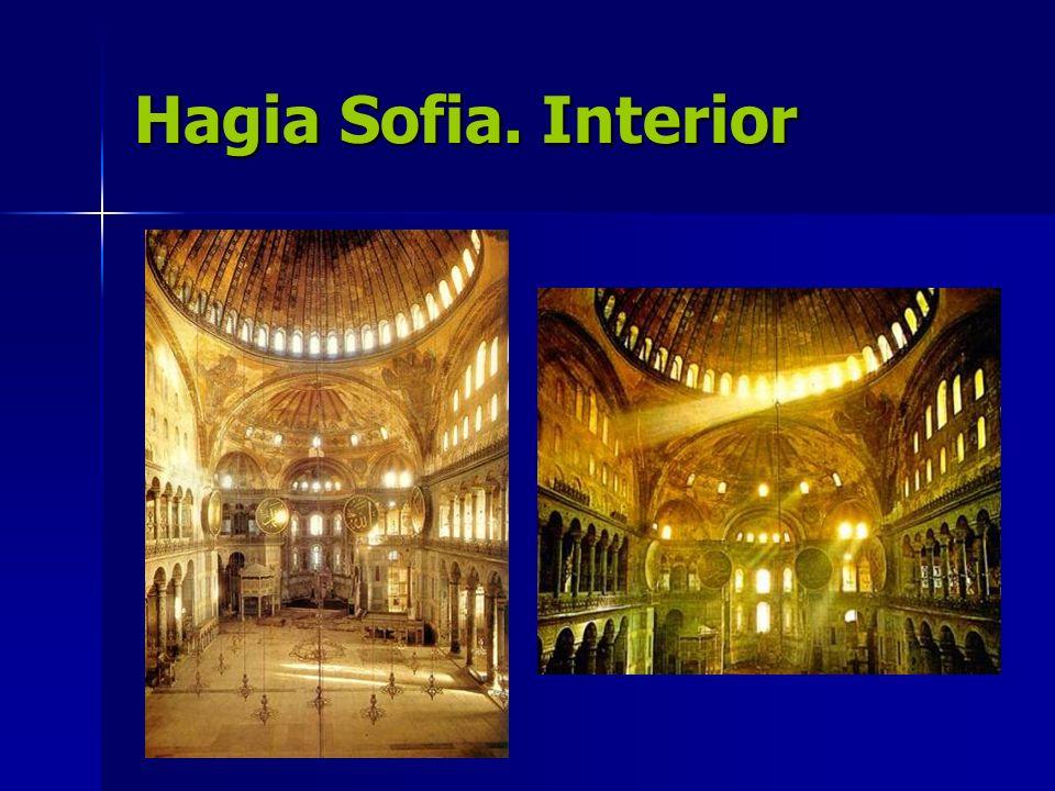 Hagia Sofia. Interior